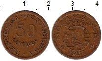 Изображение Монеты Мозамбик 50 сентаво 1957 Бронза XF-