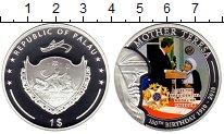 Изображение Монеты Австралия и Океания Палау 1 доллар 2010 Посеребрение Proof