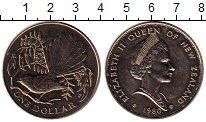Изображение Монеты Австралия и Океания Новая Зеландия 1 доллар 1980 Медно-никель UNC