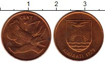 Изображение Мелочь Кирибати 1 цент 1979 Бронза UNC