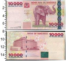 Изображение Банкноты Африка Танзания 10000 шиллингов 2003  UNC