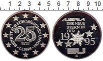 Изображение Монеты Европа Австрия 25 экю 1995 Серебро Proof-