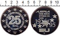 Изображение Монеты Австрия 25 экю 1995 Серебро Proof-