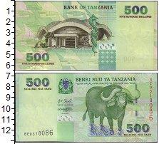 Изображение Банкноты Танзания 500 шиллингов 2003  UNC