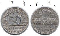 Изображение Монеты Германия Веймарская республика 50 пфеннигов 1921 Алюминий VF