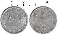 Изображение Монеты Веймарская республика 200 марок 1923 Алюминий VF