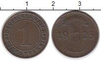 Изображение Монеты Веймарская республика 1 пфенниг 1925 Медь XF