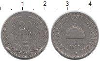 Изображение Монеты Европа Венгрия 20 филлеров 1893 Медно-никель VF