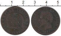 Изображение Монеты Европа Франция 5 сантим 1855 Бронза VF