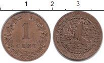 Изображение Монеты Нидерланды 1 цент 1880 Бронза VF