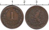 Изображение Монеты Нидерланды 1 цент 1878 Бронза VF