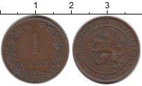 Изображение Монеты Европа Нидерланды 1 цент 1906 Бронза VF