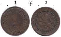 Изображение Монеты Европа Нидерланды 1 цент 1898 Бронза VF