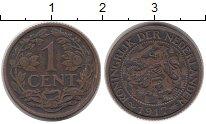Изображение Монеты Европа Нидерланды 1 цент 1917 Бронза VF
