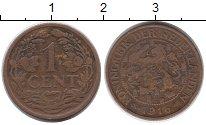 Изображение Монеты Нидерланды 1 цент 1916 Бронза VF