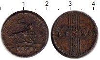 Изображение Монеты Россия 1727 – 1730 Петр II 1 копейка 1728 Медь XF-