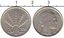 Изображение Монеты Южная Америка Уругвай 20 сентесим 1942 Серебро VF