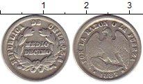 Изображение Монеты Южная Америка Чили 1/2 десимо 1887 Серебро VF