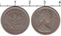 Изображение Монеты Родезия 5 центов 1964 Медно-никель XF Елизавета II