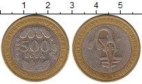 Изображение Монеты Западная Африка 500 франков 2004 Биметалл XF