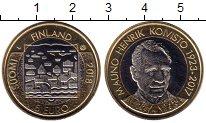 Изображение Мелочь Финляндия 5 евро 2018 Биметалл UNC