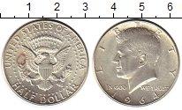 Изображение Монеты Северная Америка США 1/2 доллара 1964 Серебро XF+
