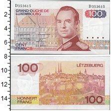 Изображение Банкноты Люксембург 100 франков 1980  UNC