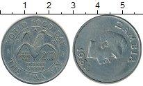 Изображение Монеты Замбия 20 нгвей 1981 Медно-никель XF ФАО