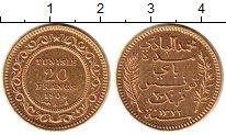 Изображение Монеты Тунис 20 франков 1904 Золото UNC-