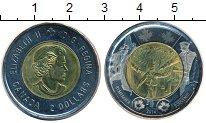 Изображение Монеты Канада 2 доллара 2014 Биметалл UNC