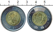 Изображение Монеты Канада 2 доллара 2015 Биметалл UNC