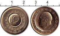 Изображение Монеты Европа Норвегия 10 крон 1985 Латунь XF