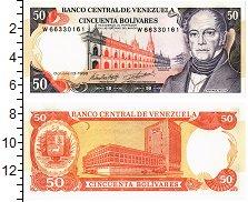 Изображение Банкноты Венесуэла 50 боливар 1998  UNC А.Белло.