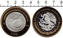 Изображение Монеты Мексика 100 песо 2014 Биметалл Proof Нумизматическое насл