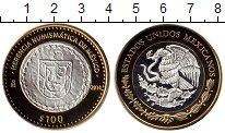 Изображение Монеты Северная Америка Мексика 100 песо 2014 Биметалл Proof