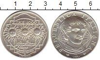 Изображение Монеты Европа Италия 1000 лир 2000 Серебро UNC