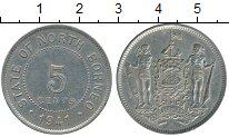 Изображение Монеты Великобритания Борнео 5 центов 1941 Медно-никель XF-