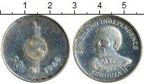 Изображение Монеты Африка Свазиленд 50 центов 1968 Медно-никель Proof-