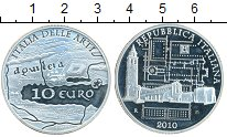 Изображение Монеты Италия 10 евро 2010 Серебро Proof-