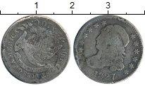 Изображение Монеты Северная Америка США 10 центов 1827 Серебро VF-