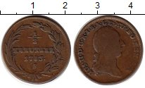 Изображение Монеты Австрия 1/2 крейцера 1783 Медь VF Иосиф II