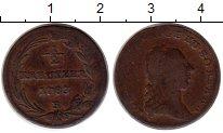 Изображение Монеты Европа Австрия 1/2 крейцера 1783 Медь VF