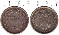 Изображение Монеты Южная Америка Боливия 50 сентаво 1900 Серебро XF