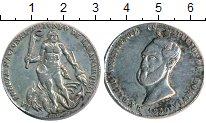Изображение Монеты Боливия Медаль 1850 Серебро VF
