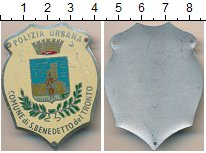 Изображение Монеты Италия Полицейский знак 0 Алюминий XF Сан-Бенедетто-дель-Т