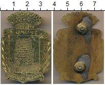 Изображение Монеты Италия Полицейский знак 0 Латунь UNC- Казальпустерленго. Г