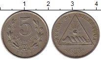 Изображение Монеты Северная Америка Никарагуа 5 сентаво 1899 Медно-никель XF