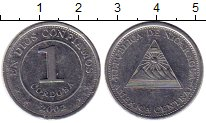 Изображение Монеты Северная Америка Никарагуа 1 кордоба 2002 Медно-никель XF