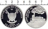 Изображение Монеты Камерун 1000 франков 2015 Серебро Proof