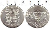 Изображение Монеты Европа Чехия 200 крон 2002 Серебро UNC